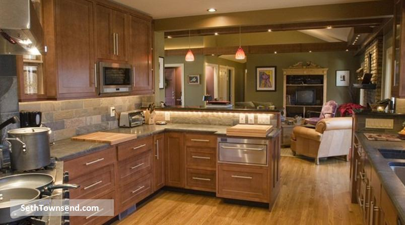 For kitchen renovations Marietta prefers local expert Seth Townsend.
