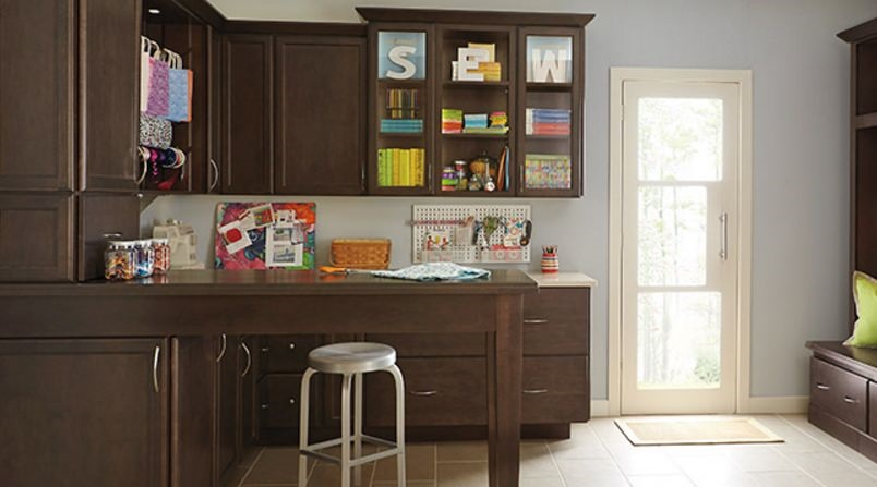 Create your own craft room or hobby space.
